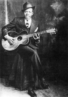 Robert Johnson - he sold his soul at the crossroads